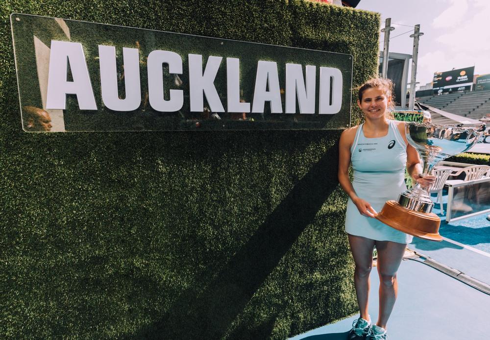 Julia Görges Gewinnt Wta Turnier In Auckland Porsche